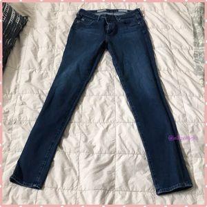 AG Mid-Rise Prima Cigarette Jeans 27